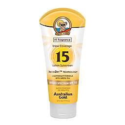 Australian Gold® 6 oz. Sheer Coverage Sunscreen Lotion SPF 15