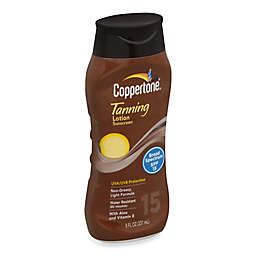 Coppertone® 8 oz. Tanning Lotion Sunscreen SPF 15