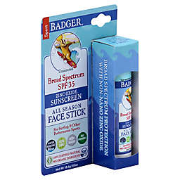 Badger® .65 oz. All Season Face Stick Sunscreen Unscented SPF 30