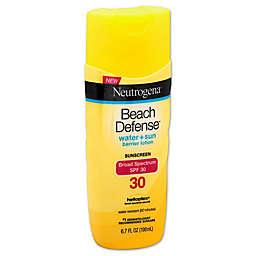 Neutrogena® Beach Defense® 6.7 oz. Sunscreen Lotion Broad Spectrum SPF 30