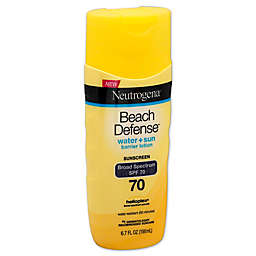 Neutrogena® Beach Defense® 6.7 fl. oz. Sunscreen Lotion Broad Spectrum SPF 70