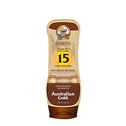 Australian Gold® 8 fl. oz. Sunscreen Lotion with Instant Bronzer SPF 15