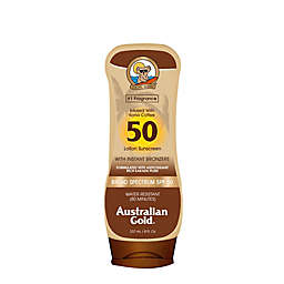 Australian Gold® 8 oz. Sunscreen Lotion with Bronzers SPF 50