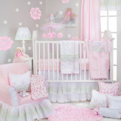 Glenna Jean Secret Garden 3 Piece Crib Bedding Set