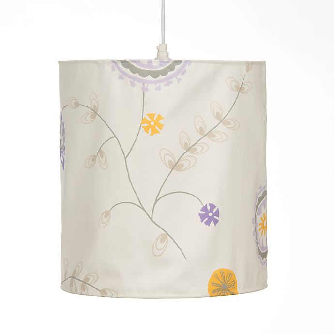 Alternate image 1 for Glenna Jean Fiona Floral Hanging Drum Shade Kit