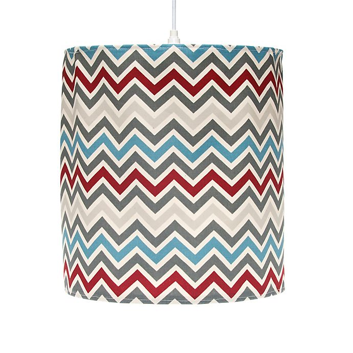 Alternate image 1 for Glenna Jean Happy Trails Hanging Chevron Drum Shade Kit in Multi