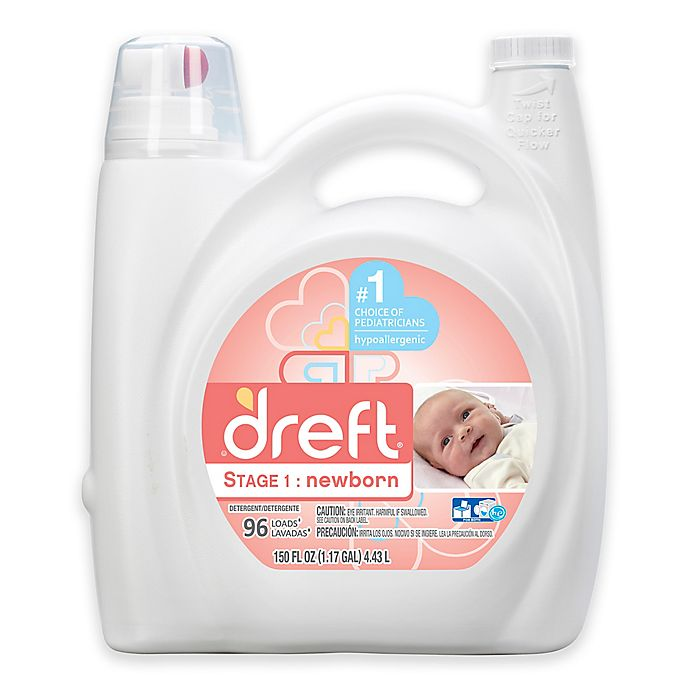 Alternate image 1 for Dreft High Efficiency Liquid Detergent in 150-Ounces (96 Loads)