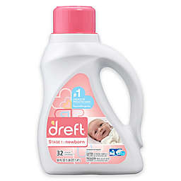 Dreft High Efficiency Liquid Detergent in 50-Ounces (32 Loads)
