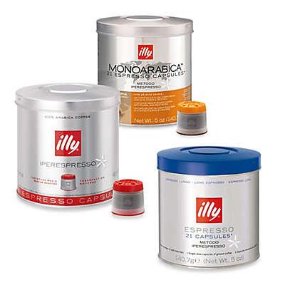 illy® iperEspresso Signature Blend & MonoArabica Capsules for iperEspresso Machines
