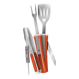 Griller 9-in-1 Grilling Tool in Orange