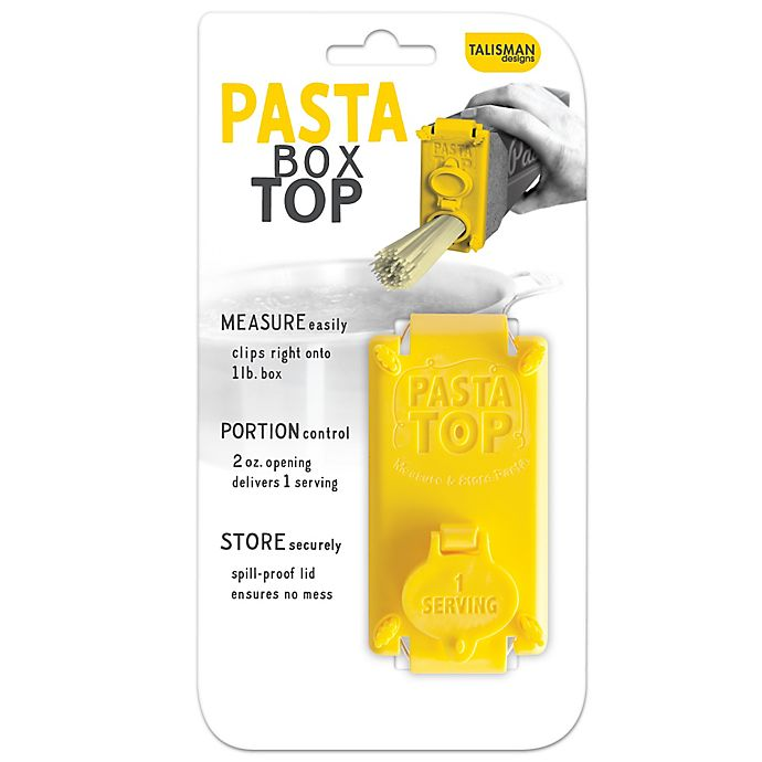 Alternate image 1 for Pasta Box Top in Yellow