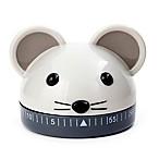 Kikkerland® Mouse Kitchen Timer in Grey