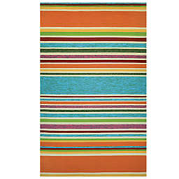 Couristan® Covington Collection Sherbet Stripe Rug