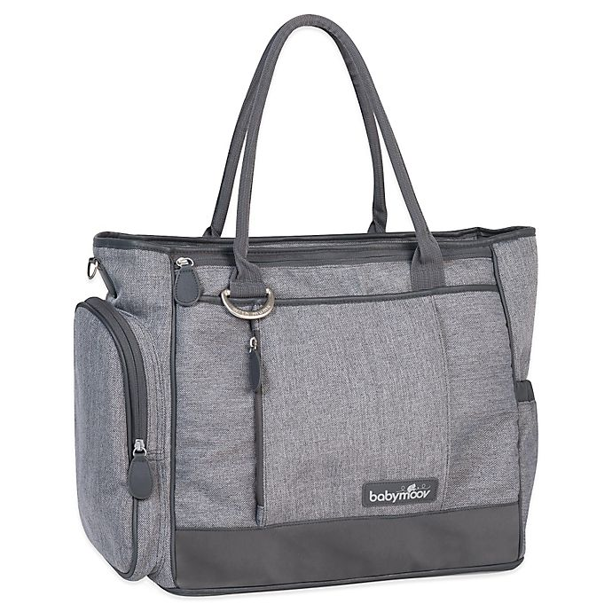 Alternate image 1 for babymoov® Essential Diaper Bag in Heather Grey