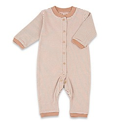 Tadpoles™ by Sleeping Partners Organic Cotton Footless Snap-Front Romper in Cocoa
