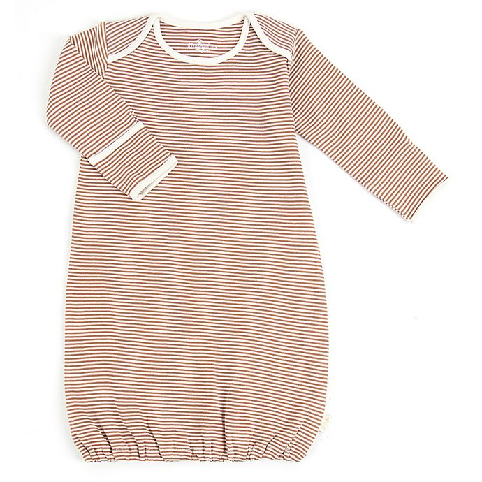 Alternate image 1 for Tadpoles™ by Sleeping Partners Size 0-6M Organic Cotton Sleep Gown in Cocoa