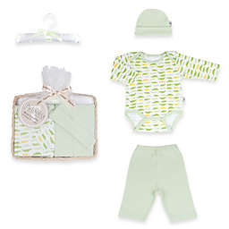 Tadpoles™ by Sleeping Partners Mod Zoo Size 0-6M 5-Piece Gift Set in Green Gator