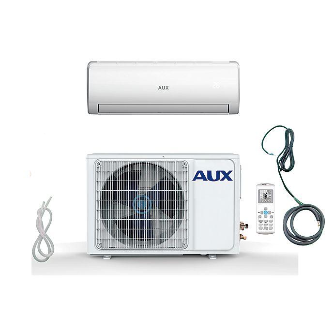 Alternate image 1 for AUX 36,000 BTU Mini Split Air Conditioner & Heat Pump in White