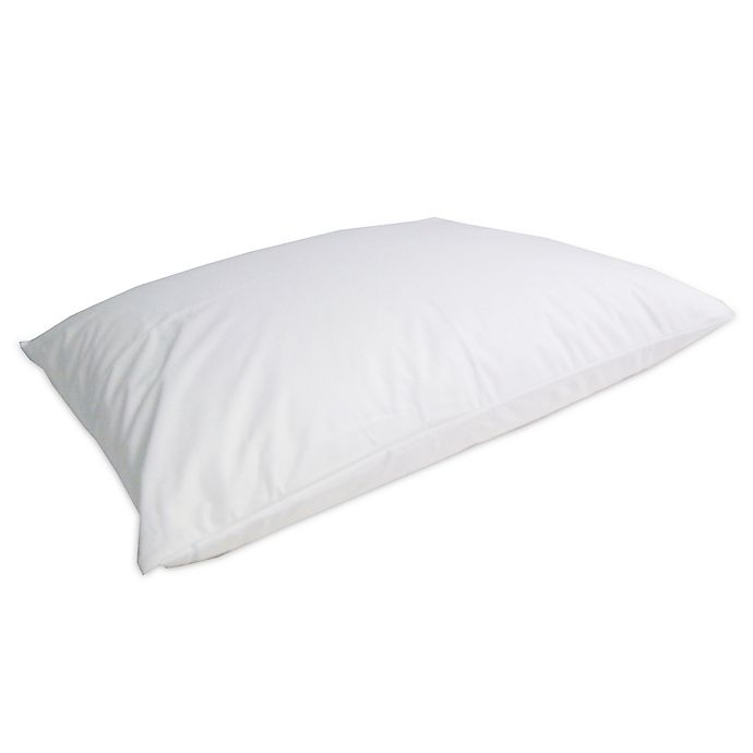 Alternate image 1 for Protect-A-Bed® AllerZip™ Smooth Pillow Protector in White