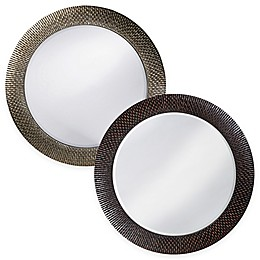 Howard Elliott 32-Inch Round Bergman Mirror