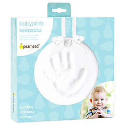 Pearhead® Babyprint 6-Inch x 6-Inch Baby Keepsake Ornament Kit in White