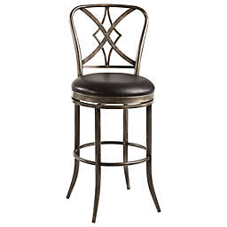 Hillsdale Jacqueline Stool in Pewter