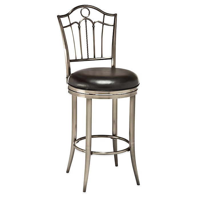Buy Hillsdale Portland Swivel Counter Stool From Bed Bath