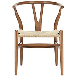 Modway Amish Wooden Armchair