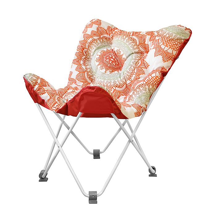 Tufted Folding Butterfly Chair In Bungalow Bed Bath Beyond
