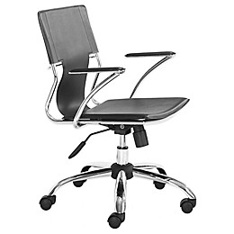 Zuo® Trafico Office Chair Black