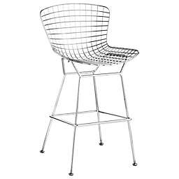 Zuo® Wire Bar Chairs in Chrome (Set of 2)