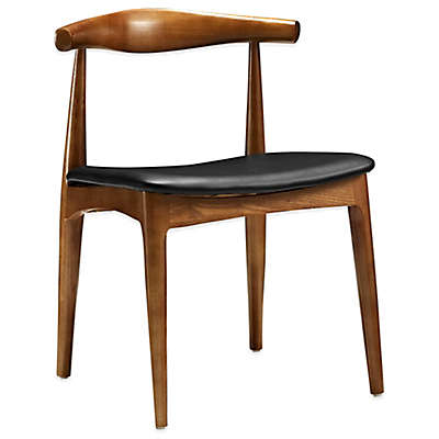 Modway Tracy Dining Side Chair in Black