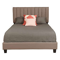 Pulaski Kathleen Kiely Upholstered Queen Bed in Taupe