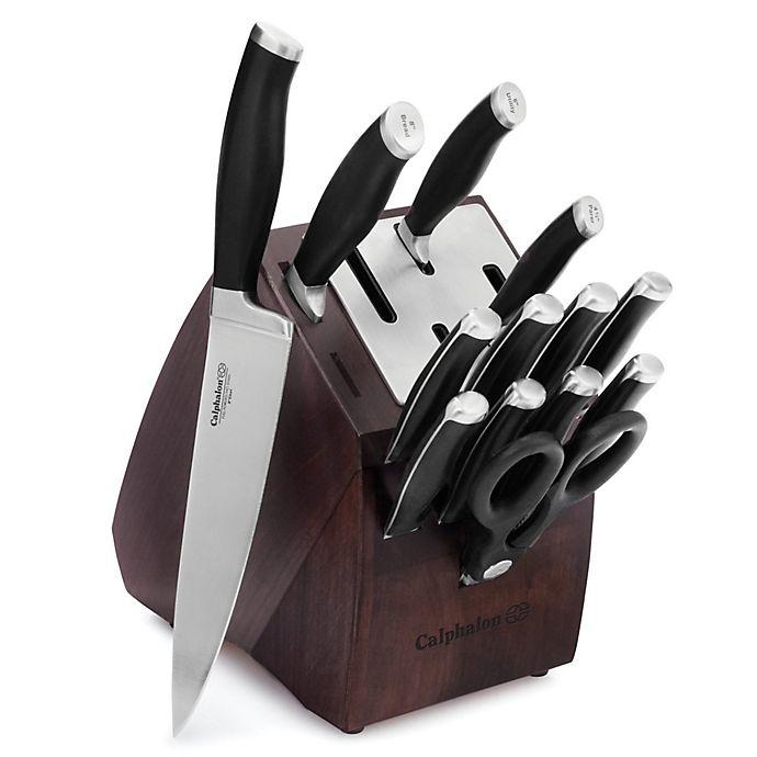 Calphalon Kitchen Outlet: Calphalon® Contemporary Self-Sharpening 14-Piece Cutlery
