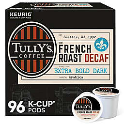 Tully's Coffee® French Roast Decaf Coffee Keurig® K-Cup® Pods 96-Count