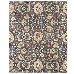 Kaleen Helena Collection Hera Rug in Pewter
