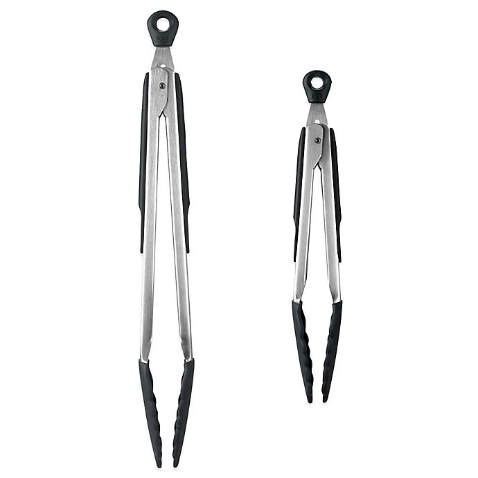 Alternate image 1 for OXO Good Grips® Tongs with Silicone Heads