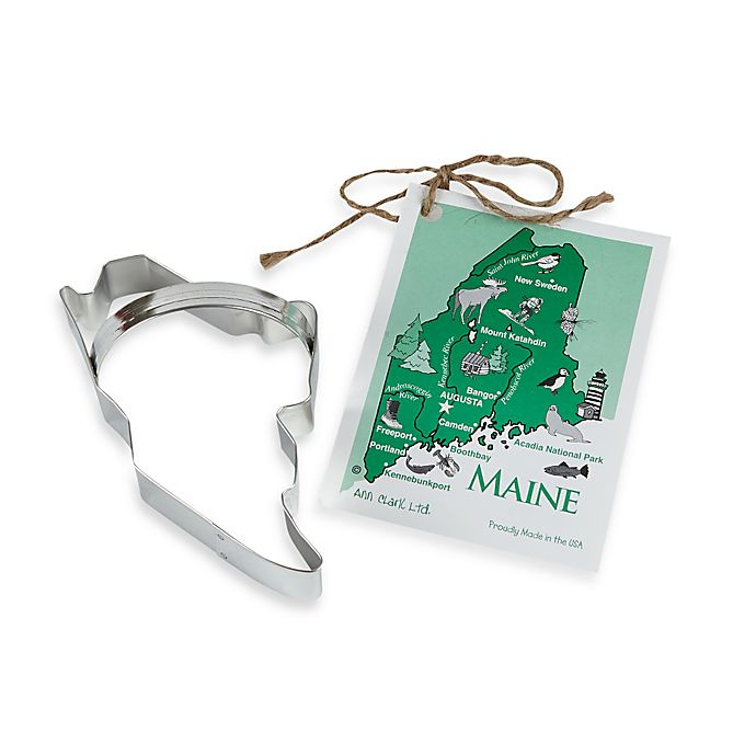 Alternate image 1 for Ann Clark State of Maine Cookie Cutter