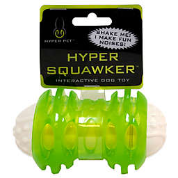 Hyper Pet™ Squawker Bone Dog Toy in Green/White