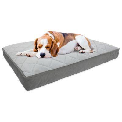 Therapedic 174 Memory Foam Pet Bed In Charcoal Bed Bath And
