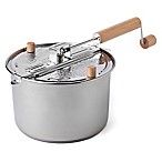 Wabash Valley Farms Stainless Steel 6-Quart Whirley Pop Stovetop Popcorn Popper