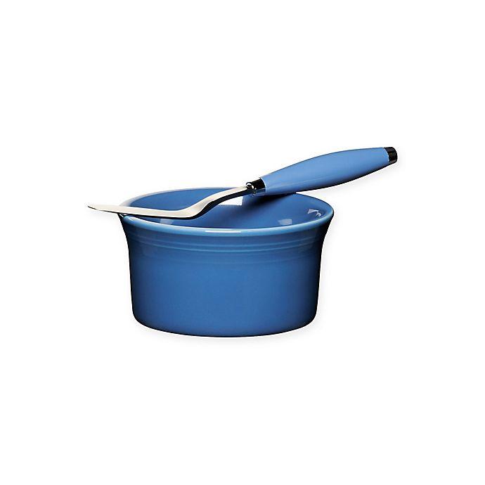 Alternate image 1 for Fiesta® 2-Piece Dip Set in Lapis