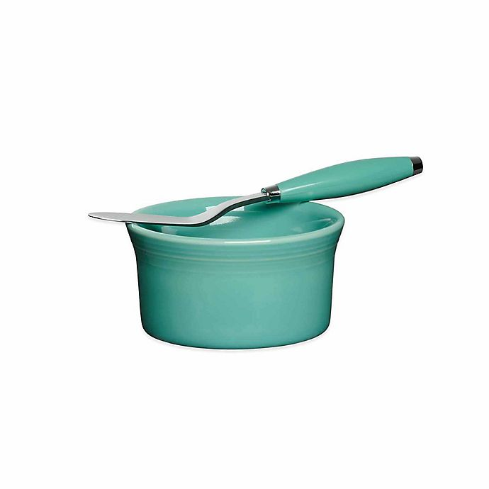 Alternate image 1 for Fiesta® 2-Piece Dip Set in Turquoise