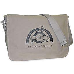 Dopp Legacy Canvas Messenger Bag in Beige