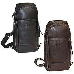Dopp SoHo Leather Sling Backpack