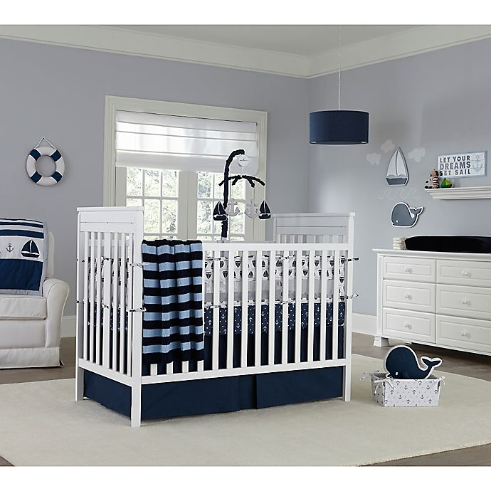 Nautica Kids Mix Match Crib Bedding Collection In Navy