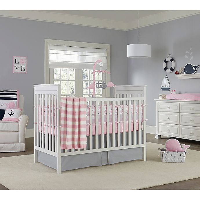 Alternate image 1 for Nautica Kids® Mix & Match Crib Bedding Collection in Pink