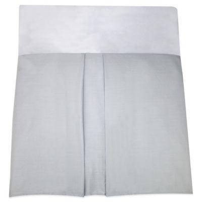 Nautica Kids 174 Mix Amp Match Crib Skirt In Grey Bed Bath