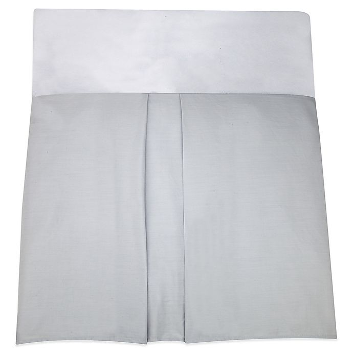 Alternate image 1 for Nautica Kids® Mix & Match Crib Skirt in Grey
