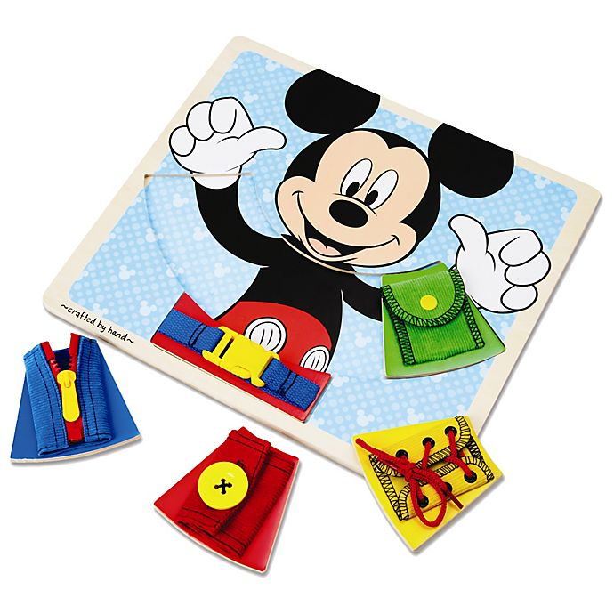 Alternate image 1 for Disney® Mickey Mouse Wooden Basic Skills Board